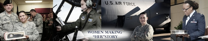 Banner for Women's History Month