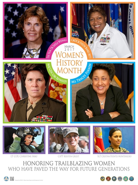 The observance recognizing women's contributions was established by Public Law100-9.  This observance runs through the month of March and celebrates the struggles and achievements of women throughout the history of the United States.