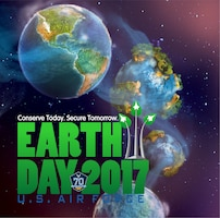 Air Force Earth Day 2017 - Conserve Today. Secure Tomorrow.