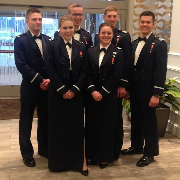 The U.S. Air Force Academy's rifle team received a combined seven National Rifle Association Collegiate All-Americans and College Rifle Coaches Association All-American selections in smallbore and air rifle. The CRCA coaches committee uses all scores shot in collegiate competition for the season to determine the top five for first-team, second five for second-team, and third five for third-team. The announcement came during the NCAA Rifle Championships at Ohio State University on March 11, 2017. (U.S. Air Force photo)