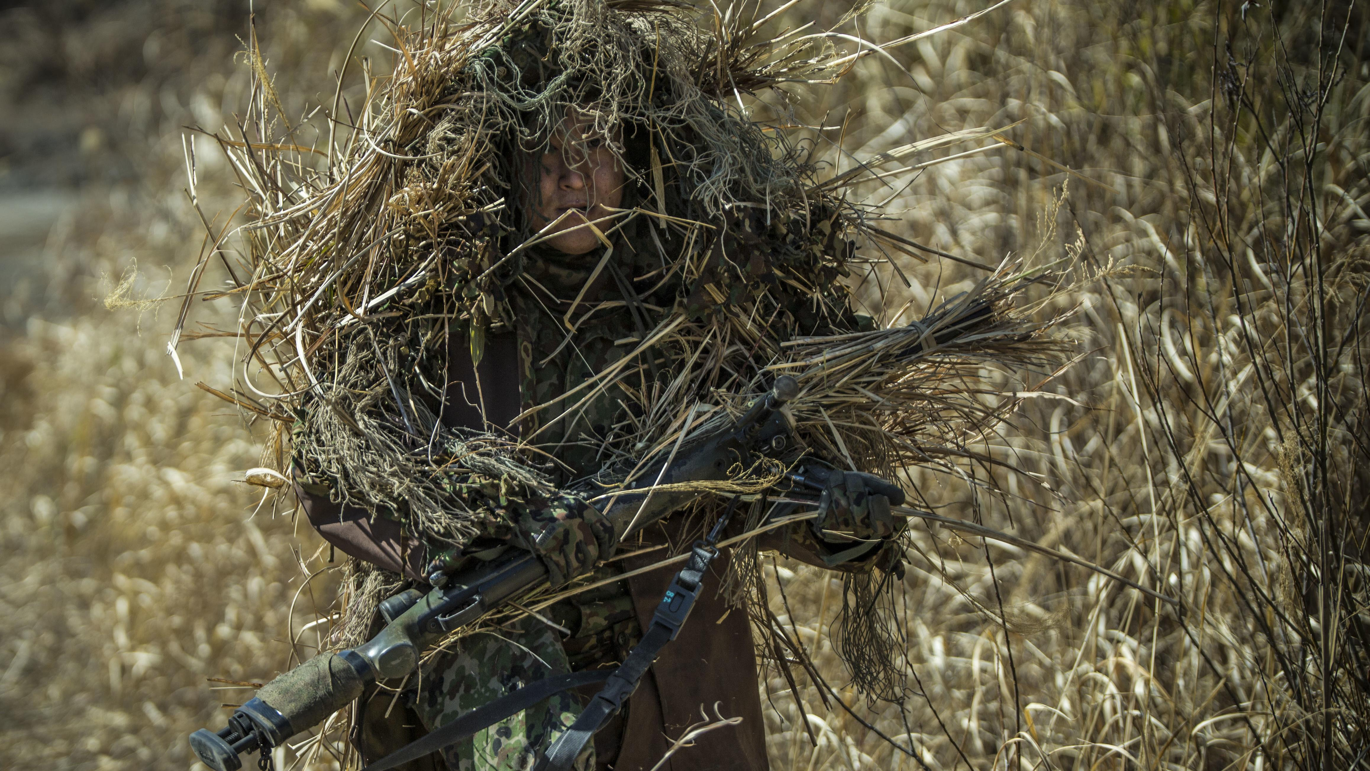 72 Ghillie Suit Wallpapers On Wallpaperplay: Marines.mil