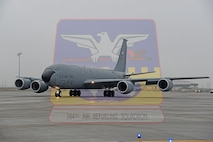 "The 384th Air Refueling Squadron joins the 92nd Air Refueling Wing Mar. 23, the 73rd anniversary of the 384th's first combat mission in World War II. Globally known as the ""Squarepatchers,"" the 384th ARS comes to Fairchild after calling McConnell Air Force Base, Kansas, home for more than 43 years. In September 2016, they were directed to relocate after McConnell was designated as the next KC-46 Pegasus base. (U.S. Air Force graphic/Senior Airman Mackenzie Richardson)"