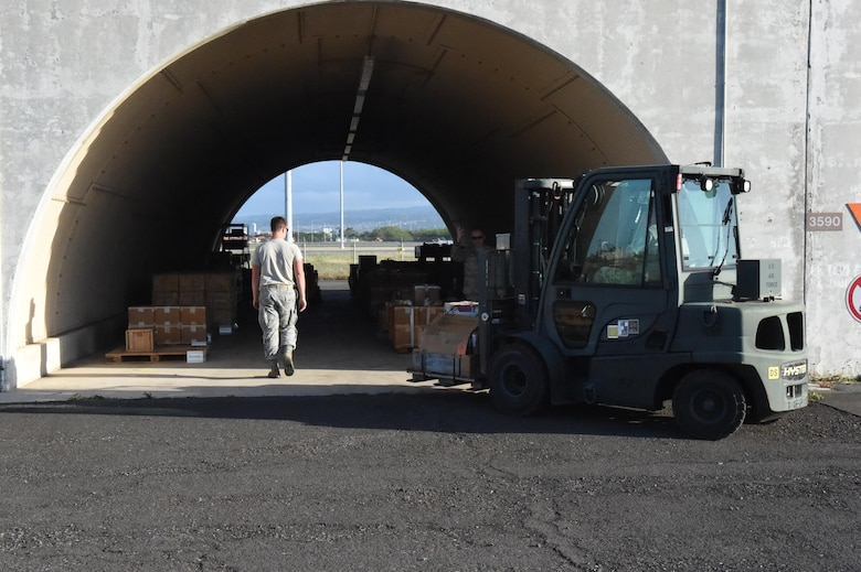 On February 11, 2017, roughly 40 members of the 132nd Wing consisting of Logistics Readiness Squadron (LRS), Safety and Finance participated in a 15 day Deployment for Training (DFT) opportunity at the 154th Wing, Hawaii Air National Guard (HANG) at Hickam Field, Hawaii.