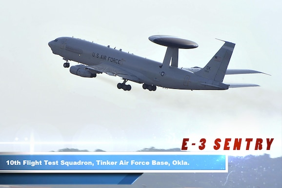 The E-3 Sentry is an airborne warning and control system, or AWACS, aircraft with an integrated command and control battle management, or C2BM, surveillance, target detection, and tracking platform.  The aircraft provides an accurate, real-time picture of the battlespace to the Joint Air Operations Center. AWACS provides situational awareness of friendly, neutral and hostile activity, command and control of an area of responsibility, battle management of theater forces, all-altitude and all-weather surveillance of the battle space, and early warning of enemy actions during joint, allied, and coalition operations.