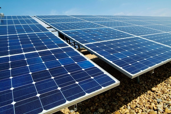 An energy company recently awarded a power purchase agreement is set to design and build a 28-megawatt solar photovoltaic array at Vandenberg. The array will span approximately 200 acres in the old east housing area and will be tied directly into the base's power grid. (courtesy photo)