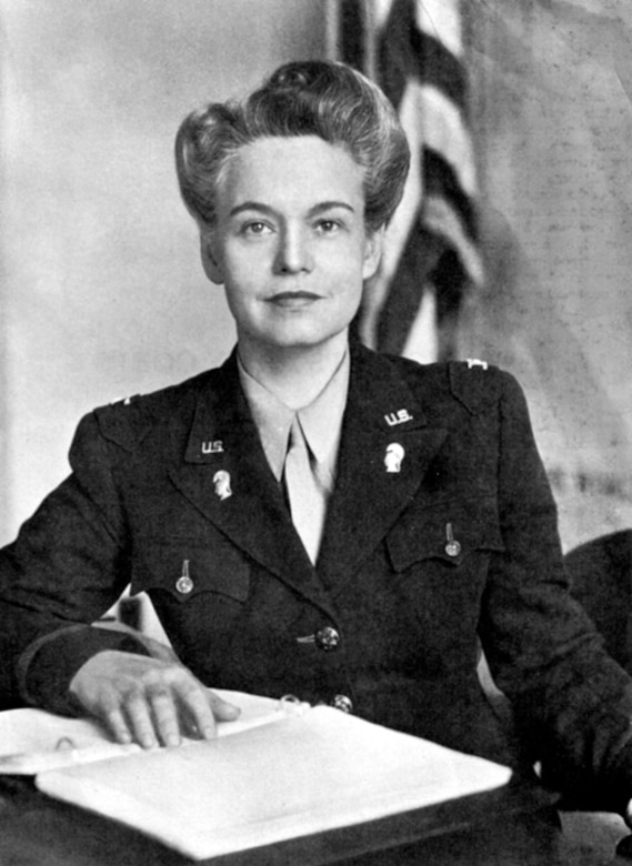 Col. Oveta Culp Hobby was the first woman sworn into the Women's Army Auxiliary Corps, or WAAC, in 1942 and she appointed as its director. When the WAAC was converted to the Women's Army Corps in July 1943, Hobby was appointed to the rank of colonel in the U.S. Army and she continued to serve as director of the WAC. Courtesy photo