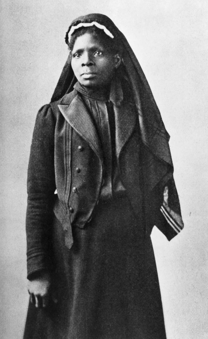 Susie King Taylor was appointed laundress of the 33rd U.S. Colored Troops during the Civil War and due to her nursing skills and her ability to read and write, her responsibilities with the regiment grew tremendously. Photo courtesy of U.S. Center for Military History