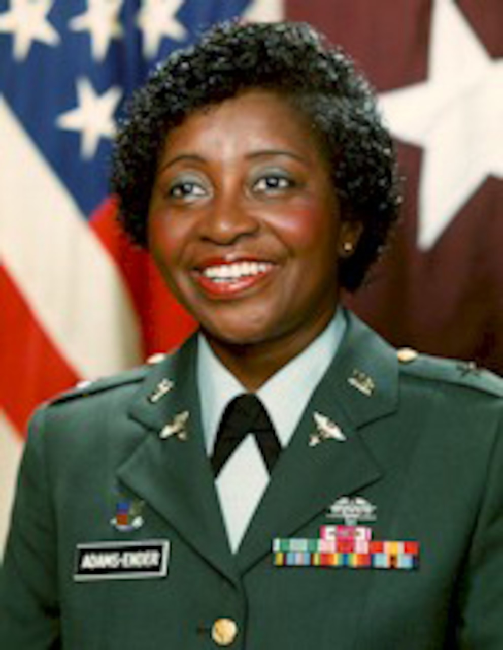 Brig. Gen. Adams-Ender was appointed as chief of the Army Nurse Corps on Sept. 1, 1987. In 1991, she became the first woman to command an Army installation, Fort Belvoir, Va. Courtesy photo