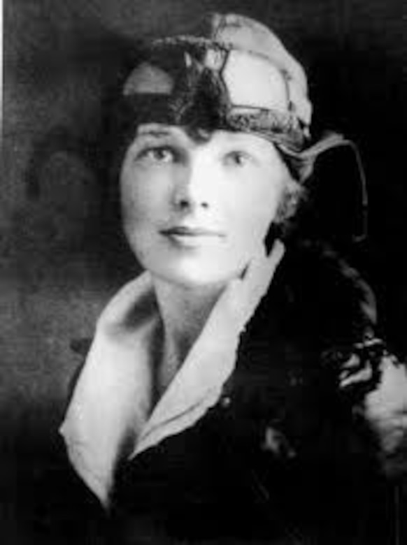 Amelia Earhart was the first female pilot to fly across the Atlantic Ocean in 1928. Earhart disappeared in 1937 as she tried to travel the globe at the equator. (Courtesy Photo)