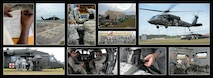 Airmen from the 6th Medical Group participated in a two-day air medical evacuation exercise at MacDill Air Force Base, Fla., March 12, 2017. The exercise compiled knowledge and hands-on training of site acquirement, set up, patient movement, patient care, and patient staging. Participants learned to effectively utilize manpower, care space and communication to provide effective and efficient patient care and transport.  (U.S. Air Force photo layout by Senior Airman Tori Schultz)