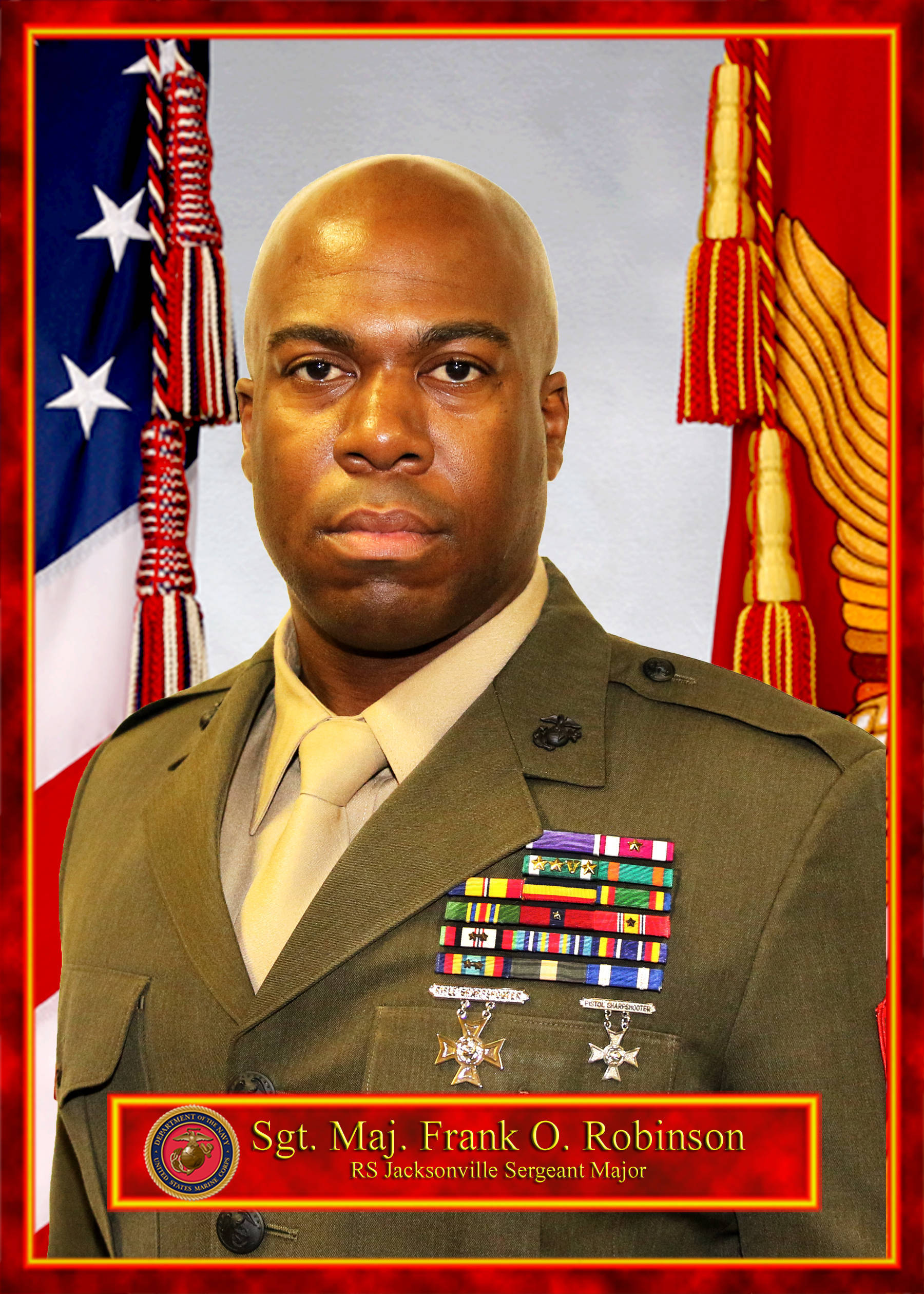 Sgt maj frank o robinson 6th marine corps district for Major motors baltimore maryland