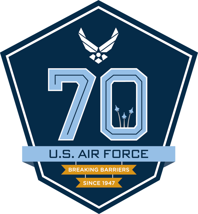Air Force 70th Birthday graphic