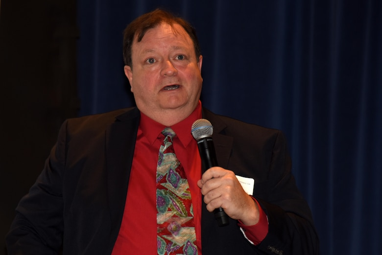 David Rose of the Rose Law Firm talks about construction company bonding for small businesses during the 6th Annual Small Business Industry Day at the Tennessee Small Business Development Center at Tennessee State University in Nashville, Tenn.