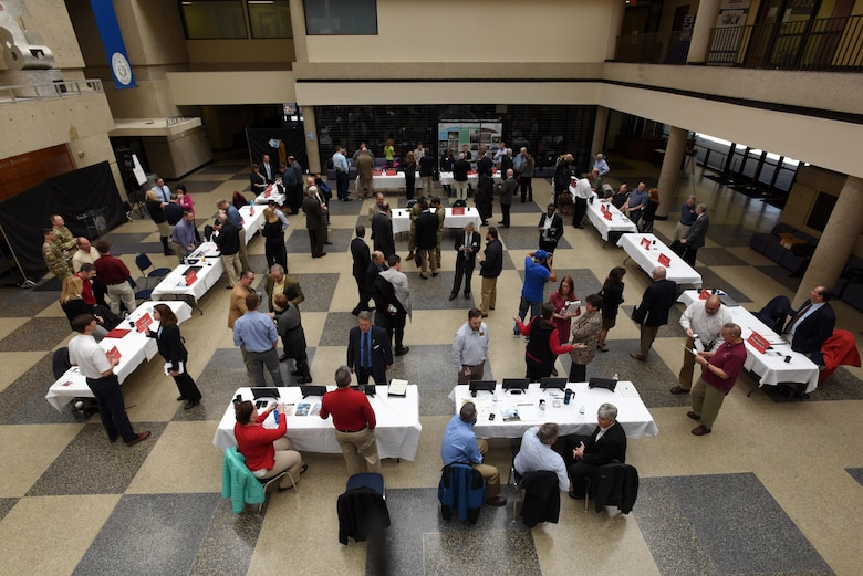 About 120 business leaders were able to network during the First Annual Nashville District Small Business Opportunities Open House at Tennessee State University in Nashville, Tenn., March 16, 2017.