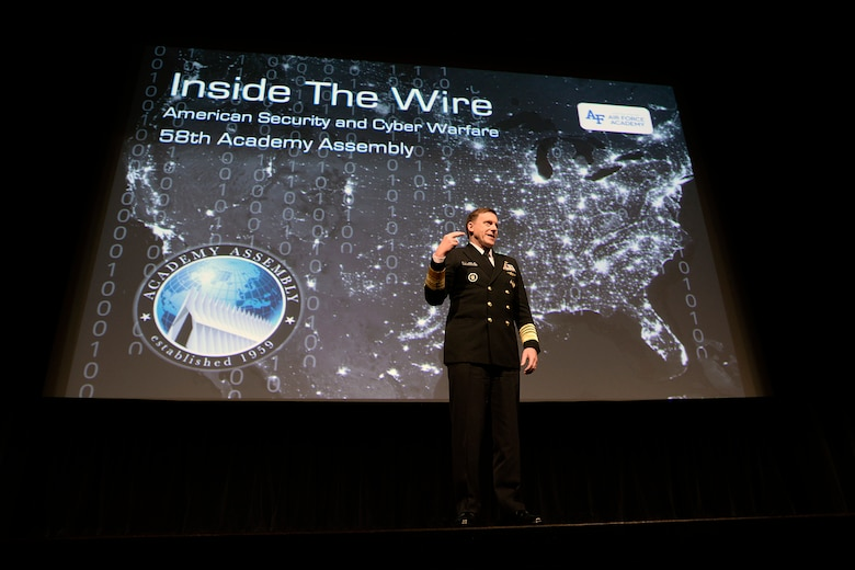 Adm. Mike Rogers, director of the National Security Agency, commander of U.S. Cyber Command commander and chief of