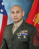 First Sergeant Fidel M. Chavez, Marine Corps Support Facility Blount Island senior enlisted advisor