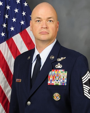 Chief Master Sgt. Eric J. Foreman