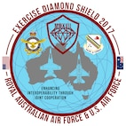 U.S. Air Force Airmen from Eielson Air Force Base, Alaska, have touched down at Royal Australian Air Force Base Williamtown, in New South Wales, Australia, for Exercise Diamond Shield 2017. Exercise DS17, the second of four Diamond Series exercises conducted by the RAAF Air Warfare Centre, is an Australian Defence Force training activity where high-readiness forces deploy quickly to remote locations in Australia in response to a simulated security threat. (U.S. Air Force graphic by Tech. Sgt. Steven R. Doty)