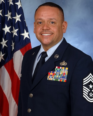 U.S. Air Force Chief Master Sgt. Hector Dominguez is appointed as the new Command Chief Master Sergeant for the Air Force Reserve's 624th Regional Support Group effective March 1, 2017. Located on Oahu and Guam, the 624th RSG mission is to deliver mission essential capability through combat readiness, quality management and peacetime deployments to any area of responsibility.