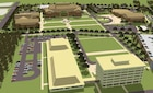 Artist rendering of the JFK Special Warfare Center and School campus at Fort Bragg.