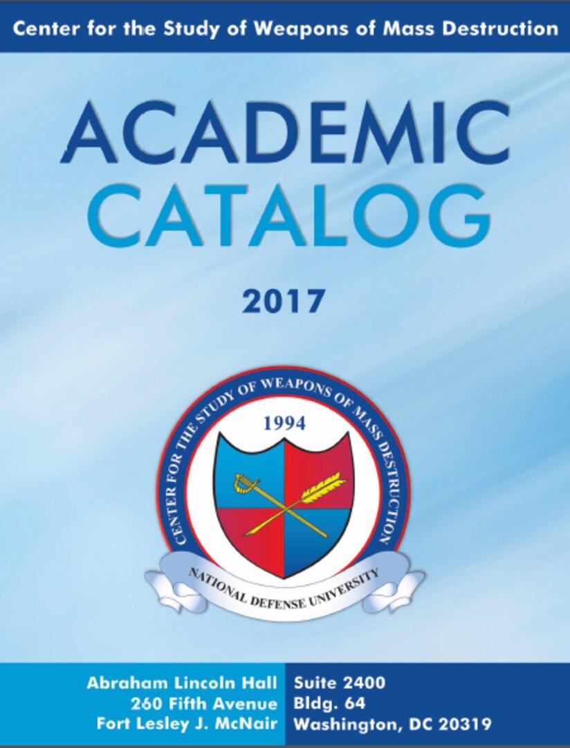 CSWMD Academic Catalog 2017