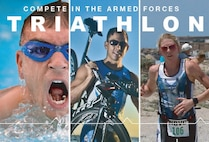 Call for Airmen to compete in the 2017 Armed Forces Triathlon