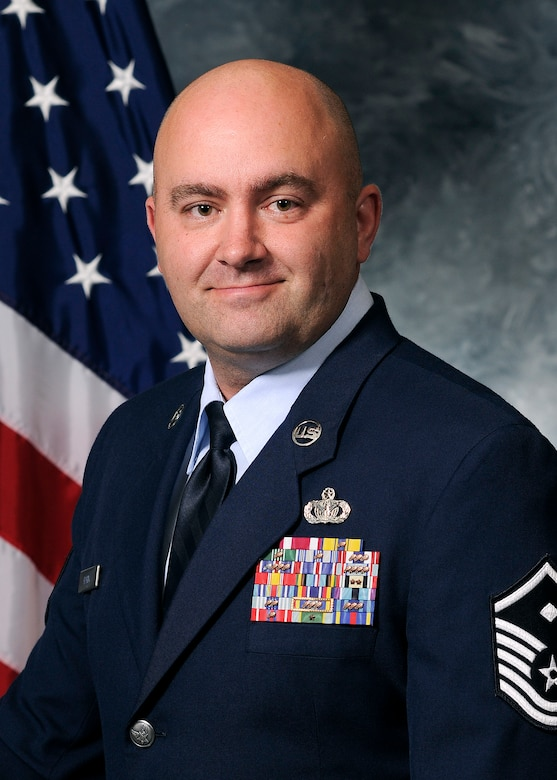 Master Sgt. Joseph Hardy, 50th Network Operations Group First Sergeant (Courtesy photo)