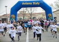 Team Aviano members and local Italians gathered for the 11th Annual Breast Cancer Awareness Walk at Aviano Air Base, Italy, March 18, 2017. More than 500 participants helped raise over $12,000 for the Centro di Riferimento Oncologico, a local oncology referral center, and The Rose, a non-profit mobile mammography bus that offers exams and treatments to underprivileged women in the Houston area. (U.S. Air Force photo by Senior Airman Cory W. Bush)