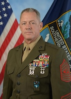 Official photo of Sergeant Major Bryan Zickefoose, Command Senior Enlisted Leader for U.S. Southern Command