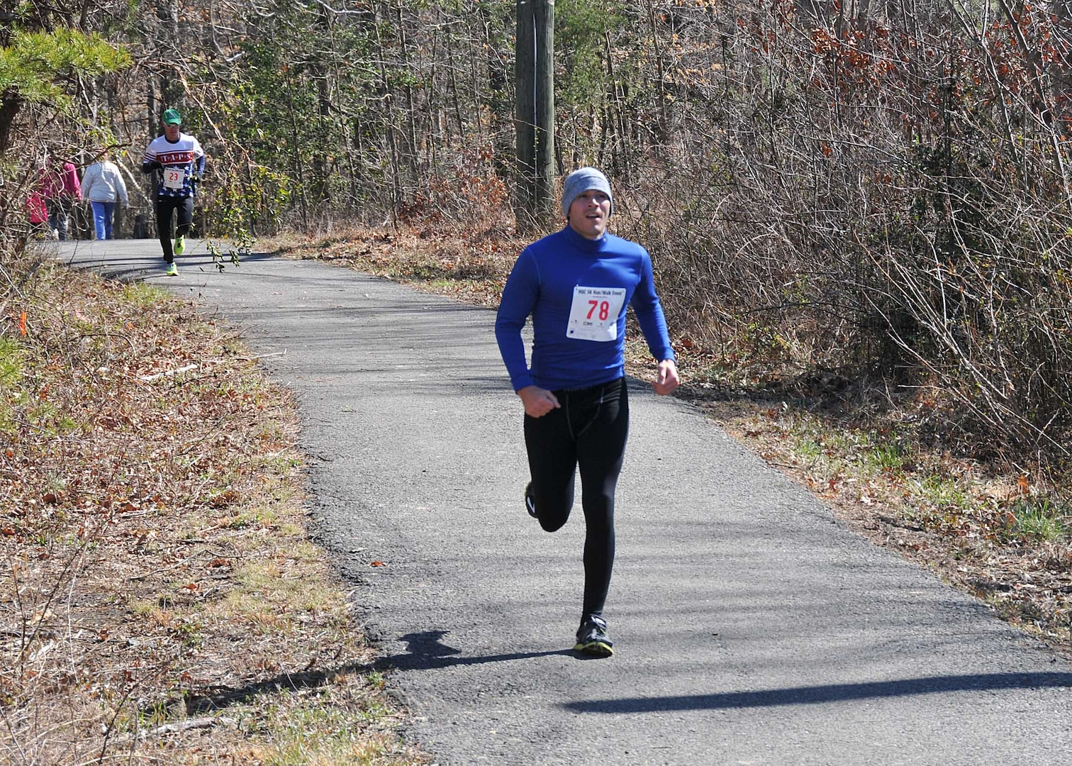DLA Energy's Alex Cano was first among male runners.