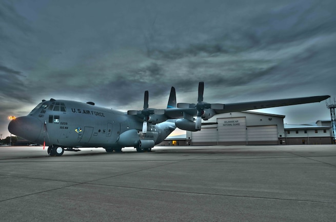 166th Airlift Wing C130HDR Image