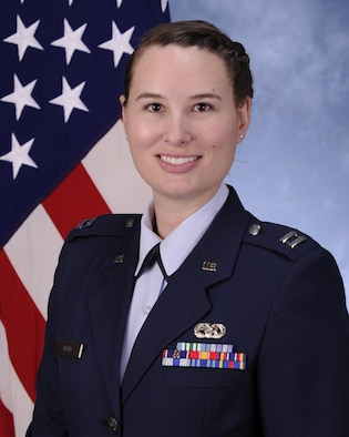 Capt. Virginia Nord from the Air Force Rescue Coordination Center (AFRCC) here was selected as the USNORTHCOM Company Grade Officer of the Year.