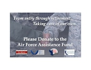 The Air Force Assistance Fund drive begins March 27 and runs through May 5 with the goal of raising $63,833 at Keesler Air Force Base to aid Airmen and their families through a wide variety of programs designed to provide support ranging from financial assistance to care for military widows. (U.S. Air Force graphic)