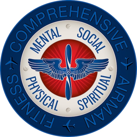 The logo for Comprehensive Airman Fitness. (Courtesy graphic)