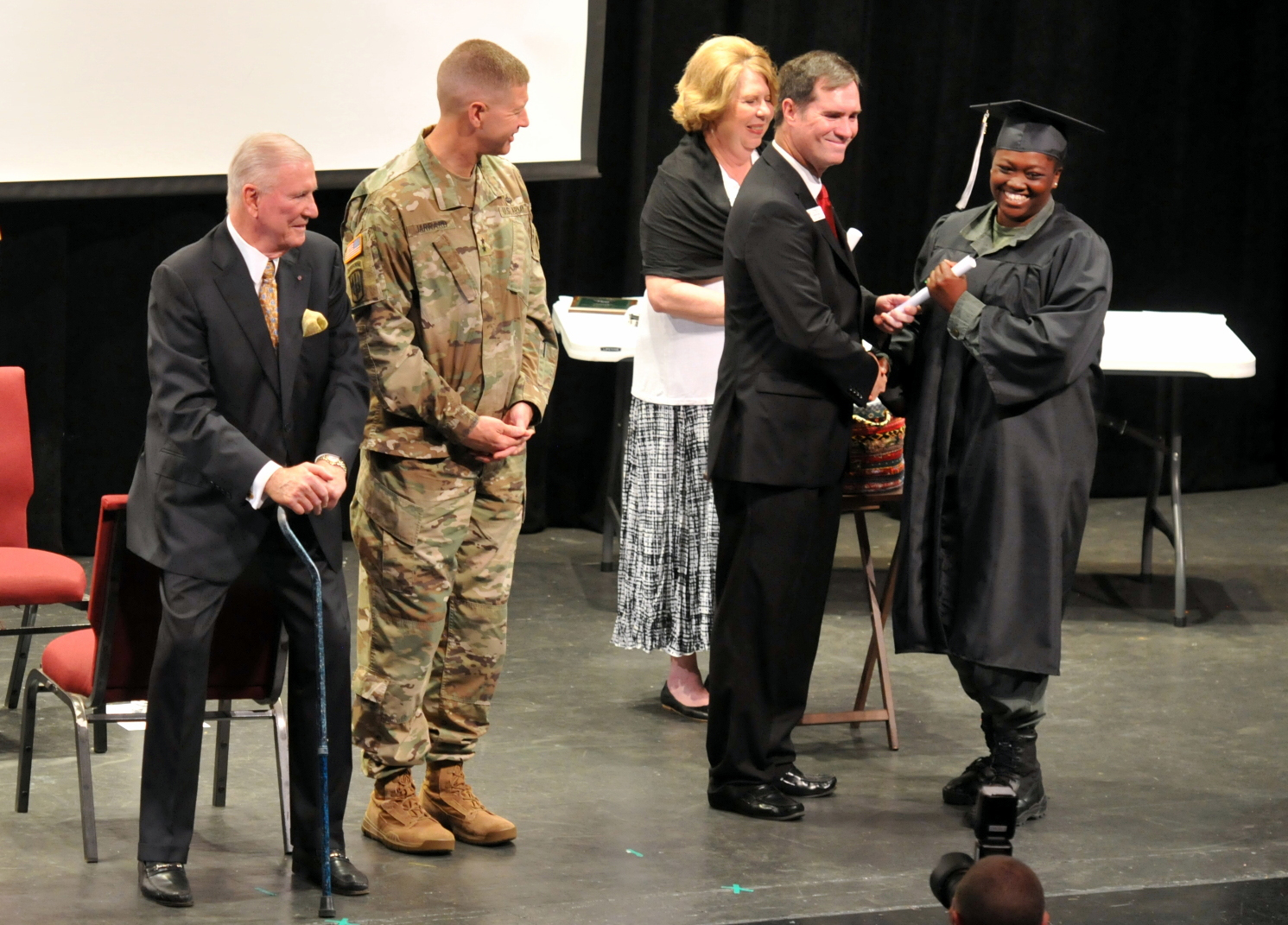 Youth Challenge Academy At Milledgeville Ga Graduates Its First