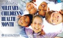 Military Children's Month Facebook Timeline