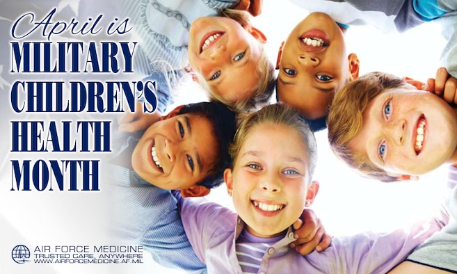 Military Children's Month Facebook Timeline