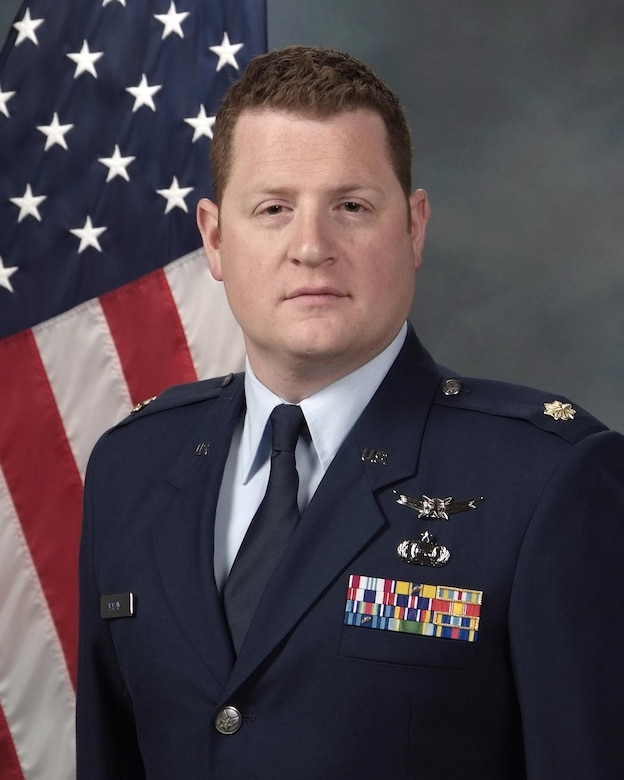 Maj. Sean Maday, assigned as an instructor at the Headquarters Reserve National Security Space Institute at Peterson Air Force Base, Colo., channeled his family's love of language and reading into a story that he hopes many others can now enjoy. (Courtesy photo)