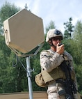 Acoustic Hailing Devices (AHD) project intelligible speech out to extended ranges. A number of devices created by various manufacturers are in use throughout the Department of Defense. In addition to long range projection of speech for warning or instructional purposes, the devices are also capable of transmitting loud tones that can distract or deter personnel from approaching U.S. positions or vessels.