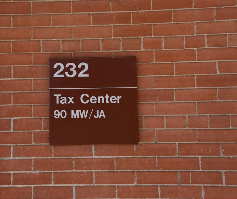 The F.E. Warren Tax Center is here to help all service members, retirees and dependents file their taxes free of charge, Mar. 23, 2017. Located in building 232, the tax center has 17 volunteers ready to assist by filling out paperwork, explaining deductions, and offering tips to improve next year's returns. Operating hours are Monday through Friday by appointment only until April 18, for more information please contact the Tax Center at 773-5829. (U.S. Air Force photo by 2nd Lt. Nikita Thorpe)