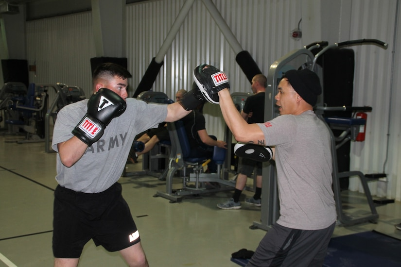 Face of Defense: Soldier Takes Love of Boxing to Romania > U S