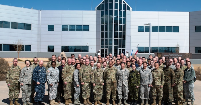 """The NORAD and USNORTHCOM Office of the Command Chaplain at held a religious affairs workshop titled  """"Embracing Complexity-Navigating Uncertainty"""" March 23, 2017. The three-day event focused on strengthening relationships and interoperability with military mission partners. Attendees included the National Guard, National Guard Bureau, the Royal Bahamas Defence Force Command Chaplain, Canadian Armed Forces Chaplain General Representative, NORAD & USNORTHCOM Region, and Component and Subordinate Command Chaplains."""