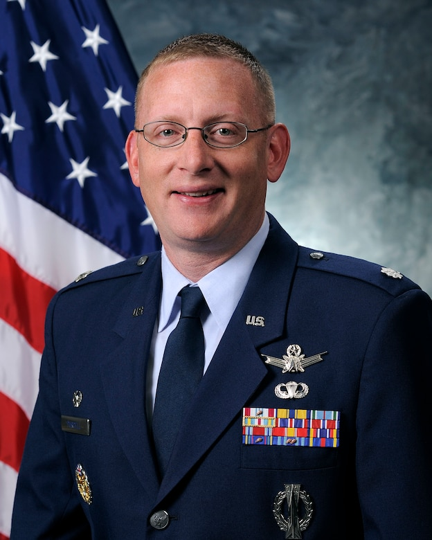 Lt.Col. Timothy Purcell, 50th  Operations Support Squadron commander. (Courtesy photo)