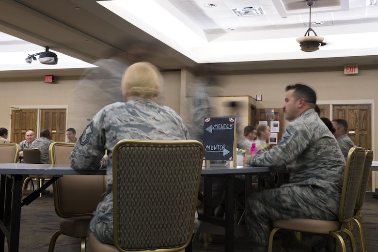 speed mentoring air force