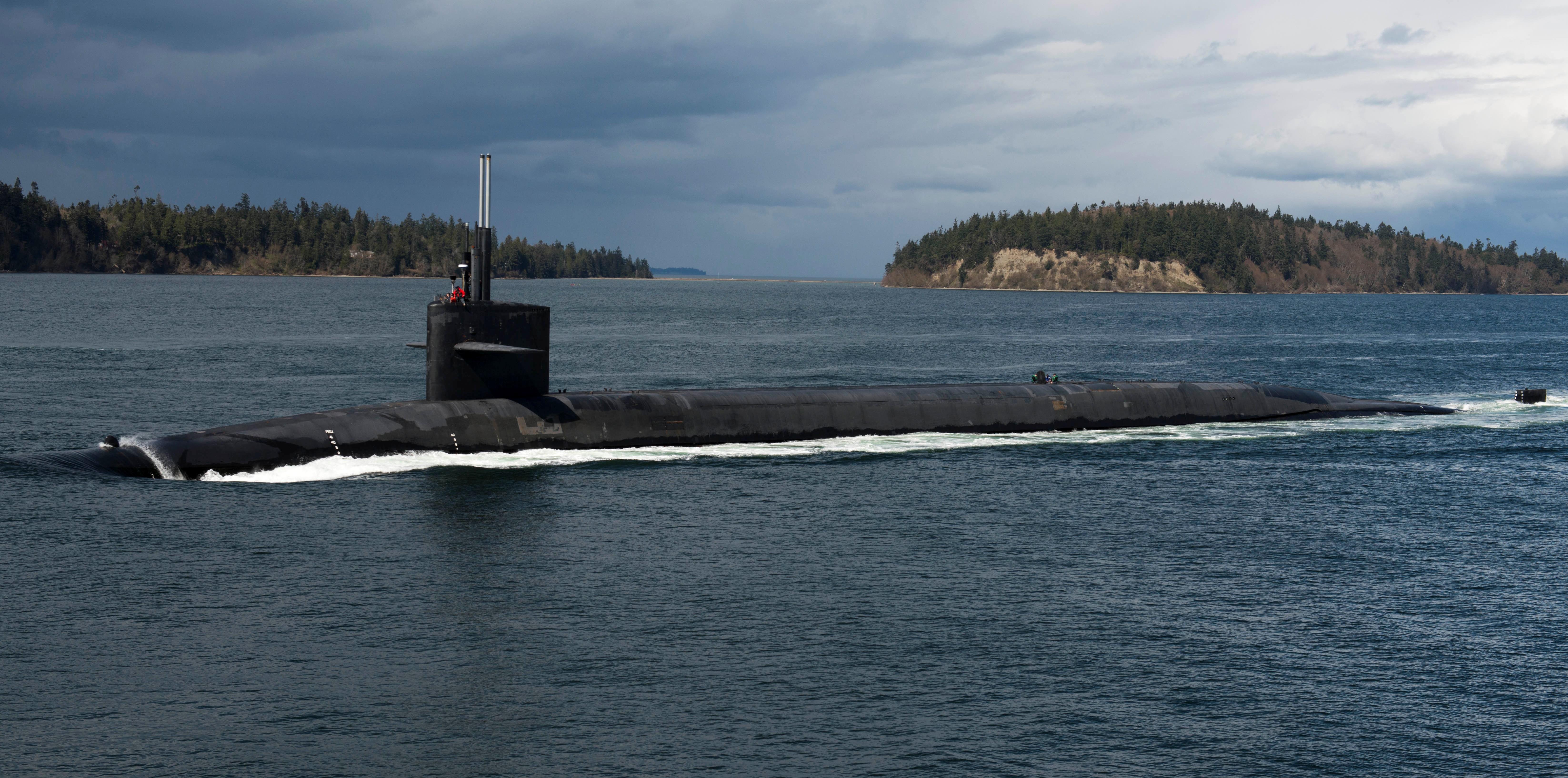 Ohio-class ballistic-missile submarine USS Pennsylvania