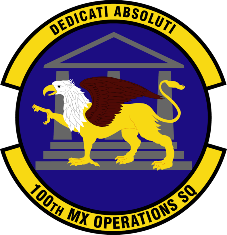 100th Maintenance Operations Squadron patch