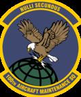 100th Aircraft Maintenance Squadron patch