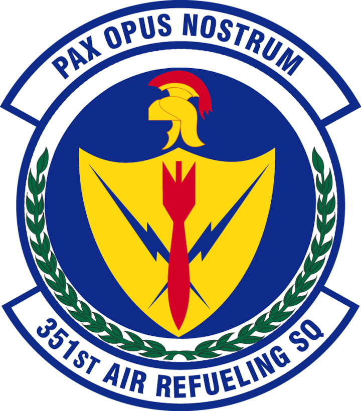 351st Air Refueling Squadron patch