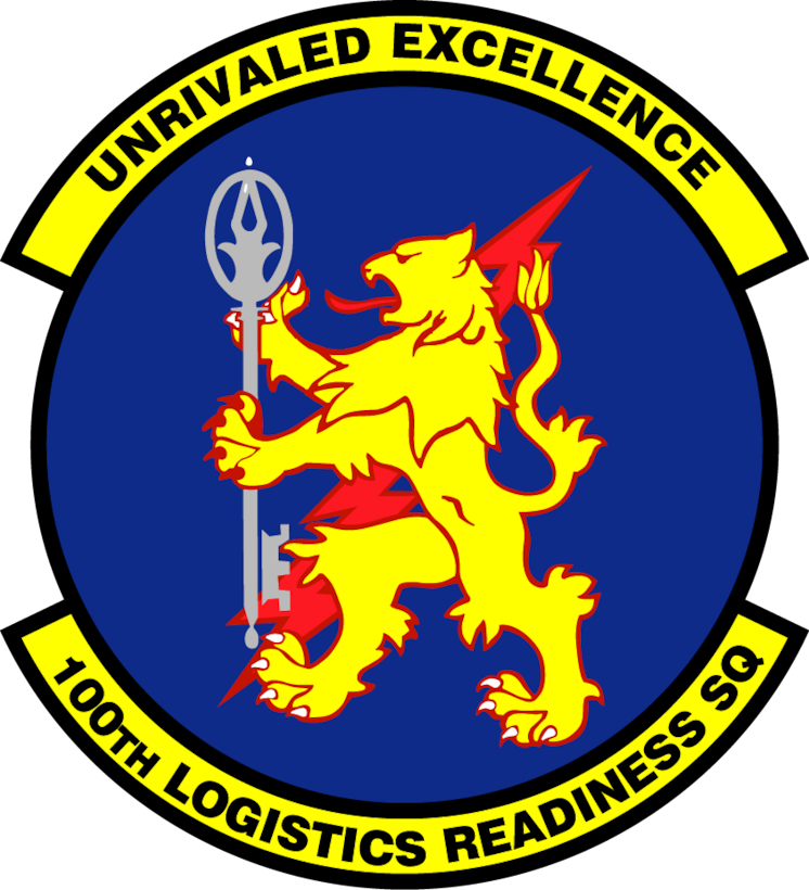 100th Logistics Readiness Squadron patch