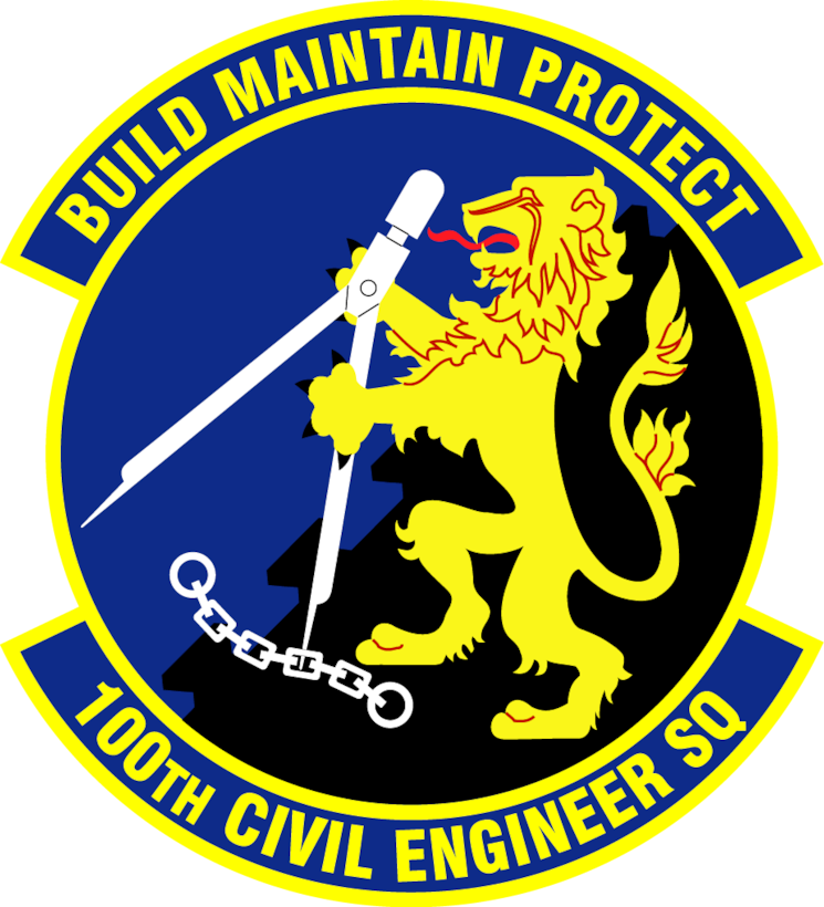 100th Civil Engineer Squadron patch